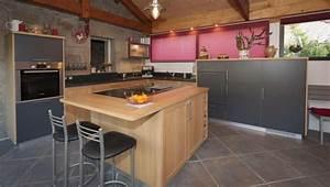 cuisine bois ardoise le bois chez vous With cuisine bois et ardoise