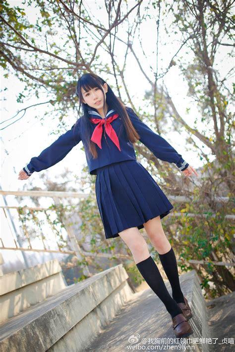 adorable japanese school uniforms  fall  love