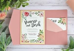 4 ways to diy rustic wedding invitations with wood paper With diy wedding invitations cards and pockets