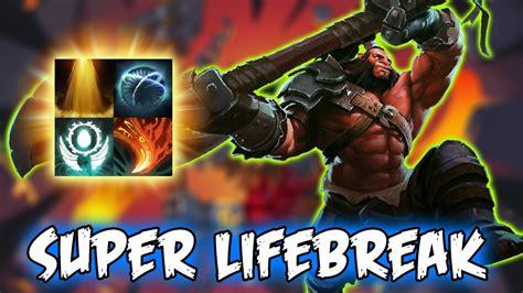 dota  ability draft super lifebreak crazy  kill