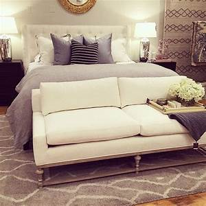 lovely small couches for bedroom decor bottom of bed perch With small end of bed sofa
