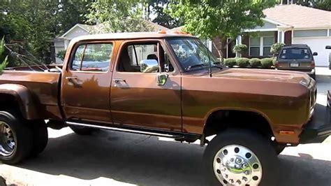 Dodge 1st gen 12 valve crewcab Cummins Power Wagon Work
