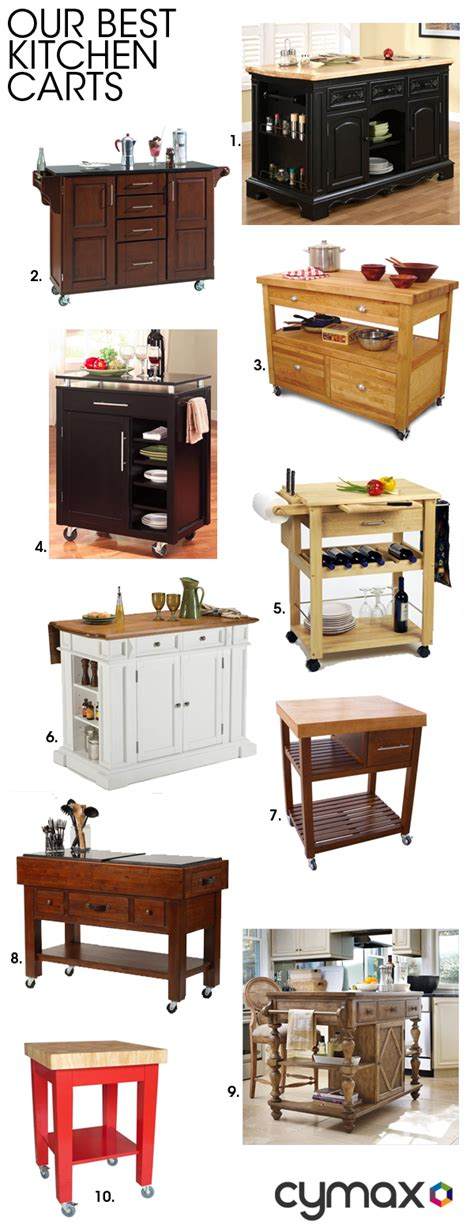 cymax kitchen islands our best kitchen carts from cymax i see a hillsdale 3072