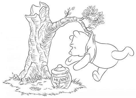 disegni piccoli musica winnie the pooh da colorare per bambini