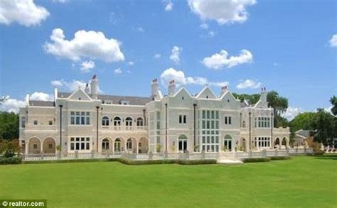 Opulent Mansions by Disgraced Florida Gold Dealer S Faux Mansion