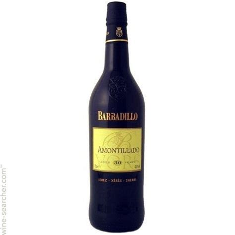 barbadillo amontillado sherry andalucia vors spain wine label larger