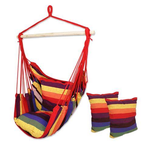 hanging patio tree sky swing chair deluxe air hammock