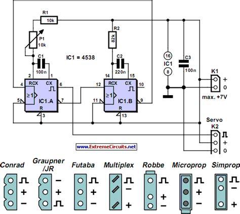 Servo Tester Using Under Repository Circuits