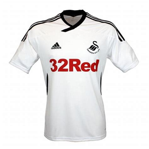 The Football Shirts Book The Connoisseur S Guide Swansea City Home Shirt For 2011 12 Season Official