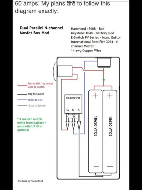 Dual Parallel Mosfet Box Mod Diagram Diy