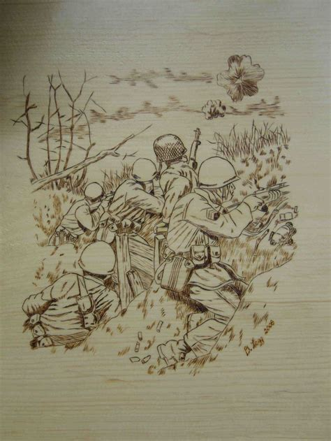 pyrography patterns plaques average size