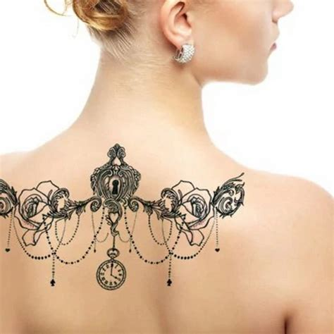 mm wholesale women neck tattoo stickers party body
