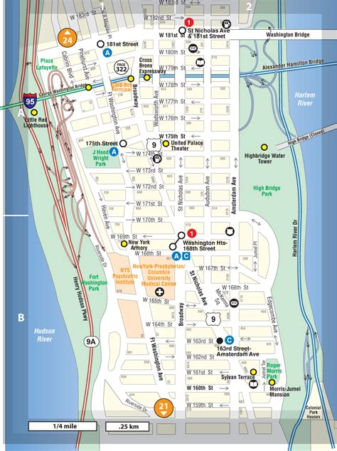 washington heights   tourists guide   york