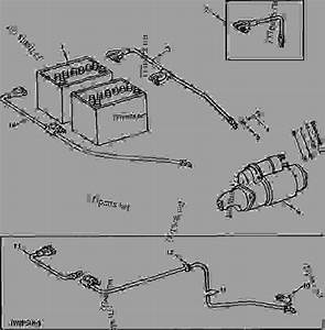 Battery Cables And Starting Motor  01e13