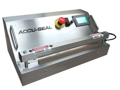 series impulse heat sealer accu seal