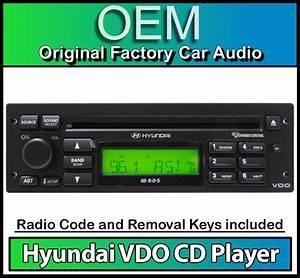 Hyundai Getz Cd Player Radio  Vdo Car Stereo Headunit With