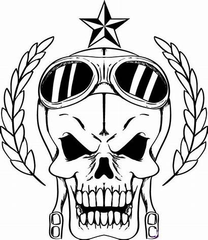 Coloring Skull Pages Adult Abstract