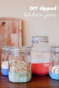 25 best kitchen jars ideas on pinterest pantry storage With what kind of paint to use on kitchen cabinets for custom labels and stickers