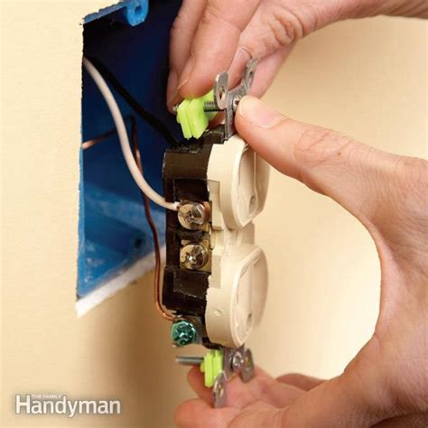 Repair Electrical Outlets: Fix Loose Outlets   The Family