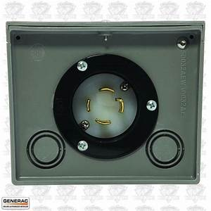 Generac 6337 Generator Power Inlet Box 4