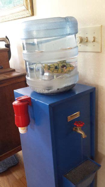 water cooler aquarium   drinkable