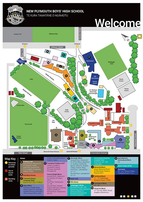 map  plymouth boys high school