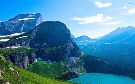 Beautiful Sceneries Of Nature For Wallpaper Glacier National Park Montana Canada Traveldigg Com