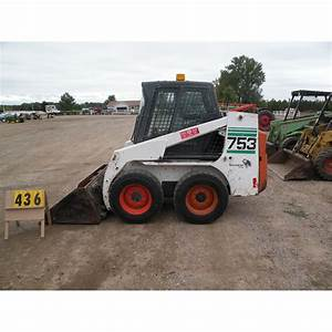 2000 Bobcat 753 W  Bucket Sn 515833087