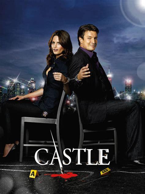 castle tv series cast katic stana poster nathan fillion dvdbash