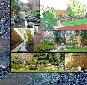 Jardin Japonais Interieur : conception et r alisation paysagiste jardin japonais ~ Dallasstarsshop.com Idées de Décoration