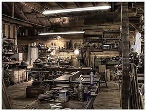 Fred's Woodshop via Eric Marston   It's a Man's Cave ...
