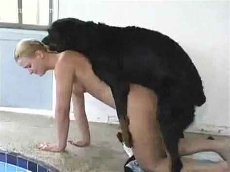 Blonde Woman Tempts Her Dog For A Fuck Xxx Femefun