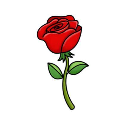 rose cartoon Smart exchange usa rose png - Clipartix