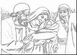 Coloring Pages Zechariah Elizabeth Jail Baptist John Birth Bible Prison Children Lord Peter Foretold Zacharias Colouring Crafts Sunday Clipart Easily sketch template