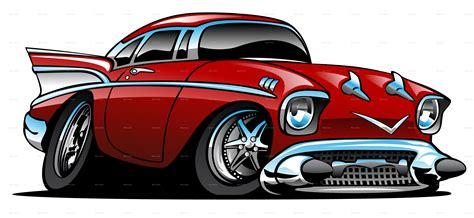 Classic American Hot Rod Cartoon By Jeffhobrath