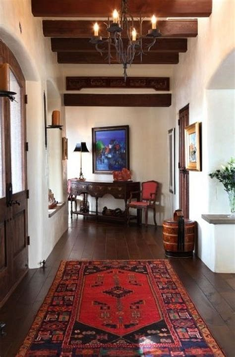 colonial home interiors spanish colonial home interior hall tewes interior design pueblo santa fe southwest