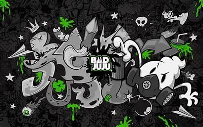 Graffiti Dark Drawing Background Wallpapers Gas Mask