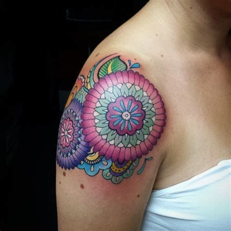 shoulder tattoos  die