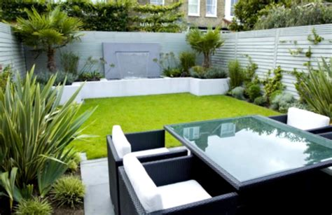 small garden design ideas with cool outdoor living