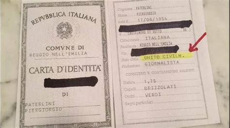 Ufficio Anagrafe Reggio Emilia by Unioni Civili Reggio Prima Sulle Carte Di Identit 224