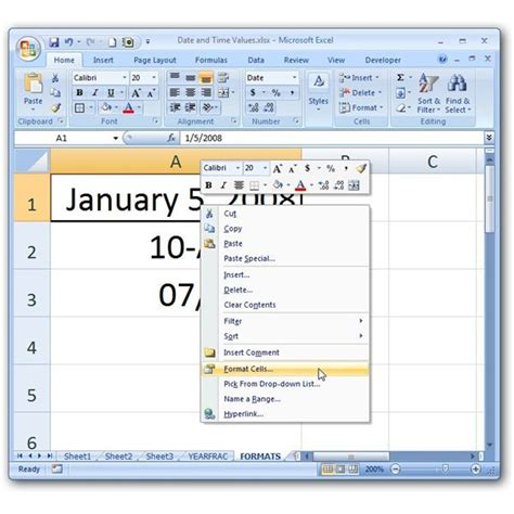 Format Exle by How To Change Date Formats In Microsoft Excel Format