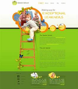 special school web template free website templates With html education templates free download