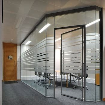 modern wood panel door design frosted glass office