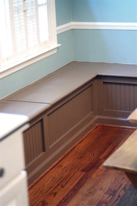 breakfast nook bench dimensions loccie  homes