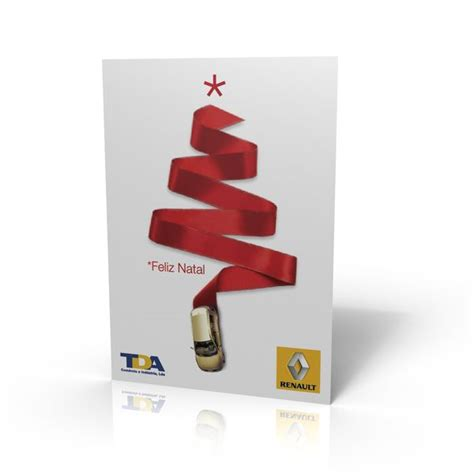 renault christmas renault christmas postcard by artur carvalho via behance