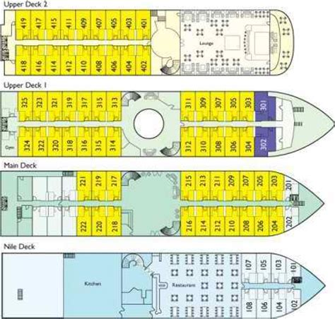 Ms Princess Deck Plan by 2bookaholiday Bargains