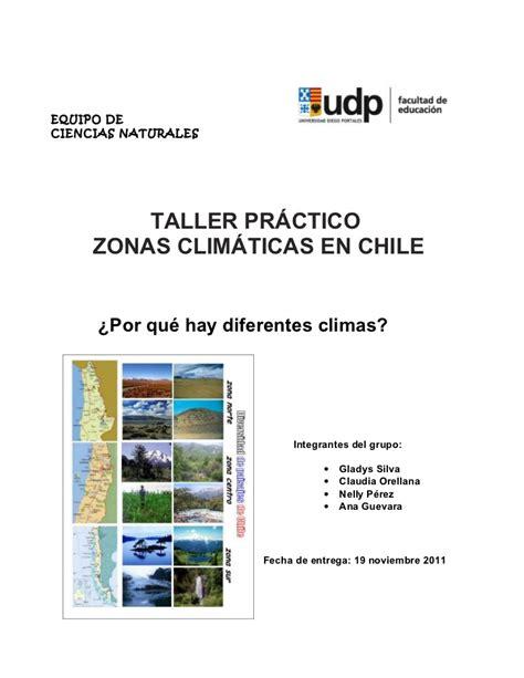 Zonas Climáticas de Chile y adaptaciones