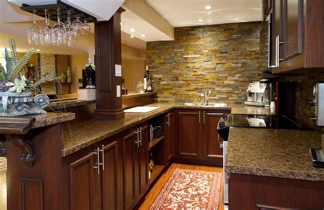 Bar In Kitchen Ideas by 19 Cozy And Splendid Finished Basement Ideas For 2019