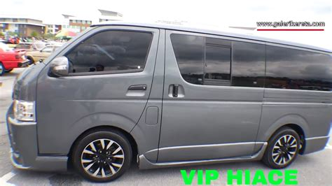Toyota Hiace Modification by Toyota Hiace Modifications Travelnetwork