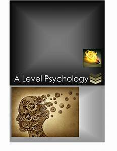 Aqa As Level Psychology Revision Notes - Memory By